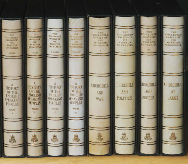 the collected works of sir winston churchill and the collected  the collected works of sir winston churchill and the collected essays 38 vols