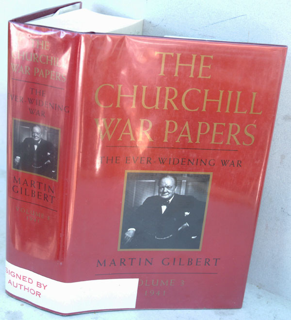 The Churchill War Papers vol. III The Ever-Widening War 1941 ( Companion vol VI part 3). Martin Gilbert.