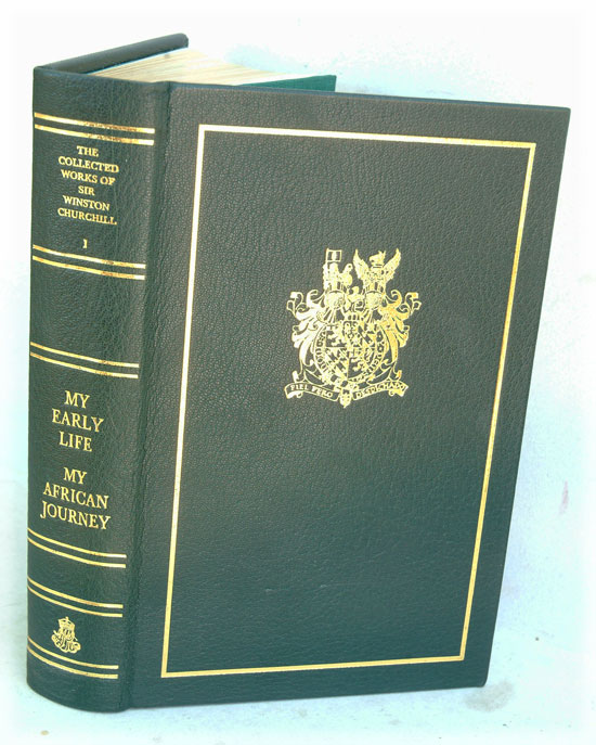THE COLLECTEDTHE ONE AND ONLT WORKS OF SIR WINSTON CHURCHILL, 38 vols. The last and best set ever. Winston S. Churchill.