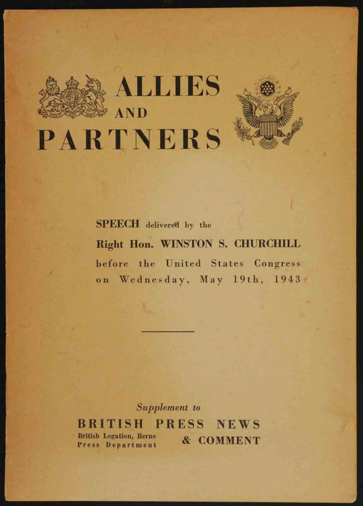 Allies and Partners. Winston S. Churchill.