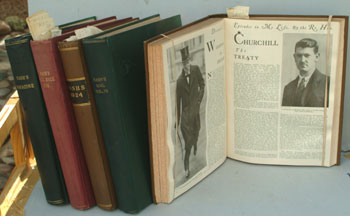 NASH's magazine, 5 bound vols 1924-1928. Winston S. Churchill.