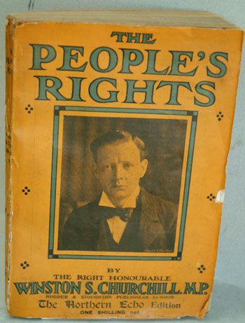 The People's Rights ( Northern Echo issue). Winston S. Churchill.