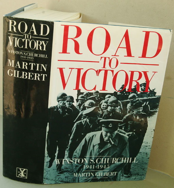 WInston S. Churchill, Volume VII, Road to Victory 1941-1945 (sogned). Martin Gilbert.