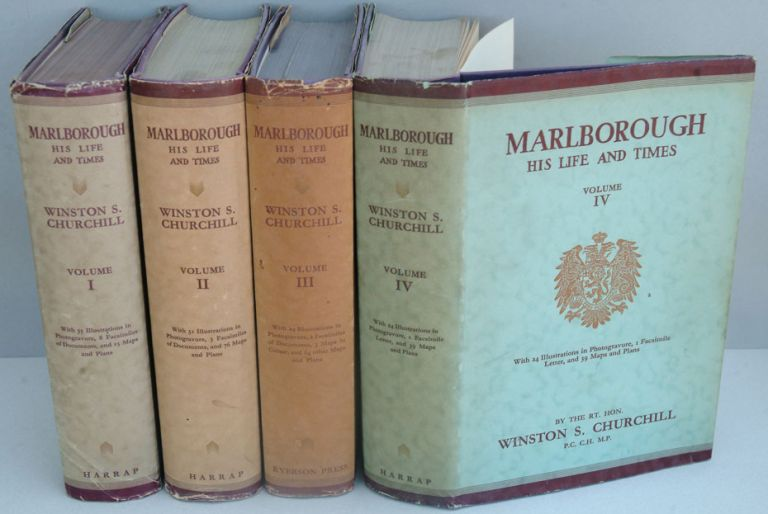 Marlborough: His Life and Times. Winston S. Churchill.