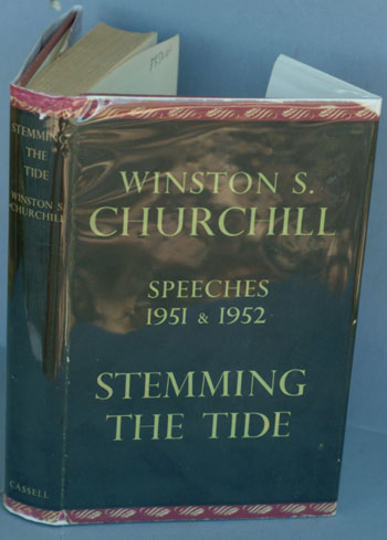 Stemming the Tide. Winston S. Churchill.