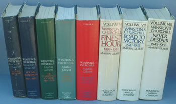 Winston S. Churchill, The Official Biography 8 vols complete. R. S. Churchill, Martin Gilbert.