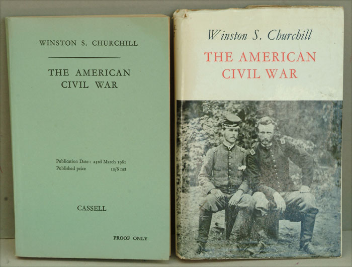 The American Civil War, PROOF COPY. Winston S. Churchill.