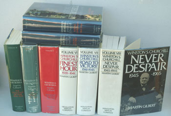 Winston S. Churchill, The Official Biography 8 vols complete. Randolph S. Churchill, Martin Gilbert.
