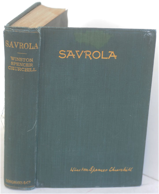 Savrola (A Tale of the Revolution in Laurania). Winston S. Churchill.