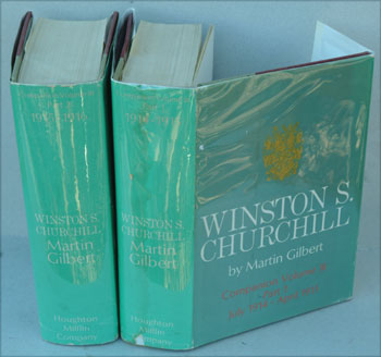 WINSTON S. CHURCHILL Companion Volume III part 1 and 2. Martin Gilbert.