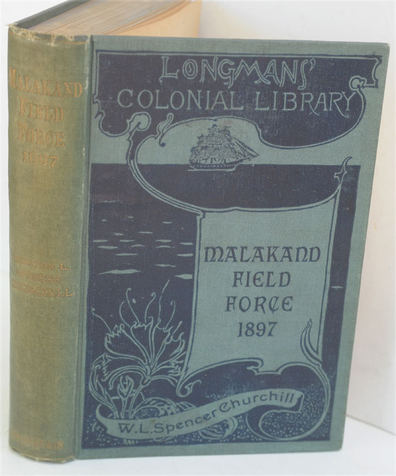 The Story of the Malakand Field Force (Colonial edition in variant binding). Winston S. Churchill.