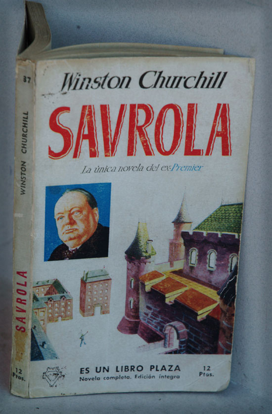 Savrola (in Spanish). Winston S. Churchill.