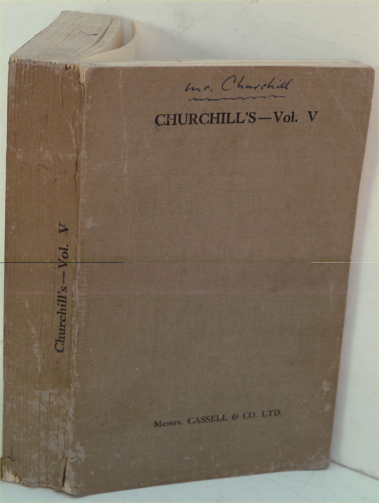 The Second World war Vol. VI PROOF COPY. Winston S. Churchill.