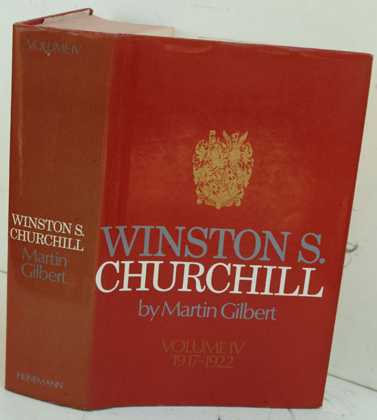 Winston S. Churchill, Vol IV The Stricken World 1916-1922. Martin Gilbert.