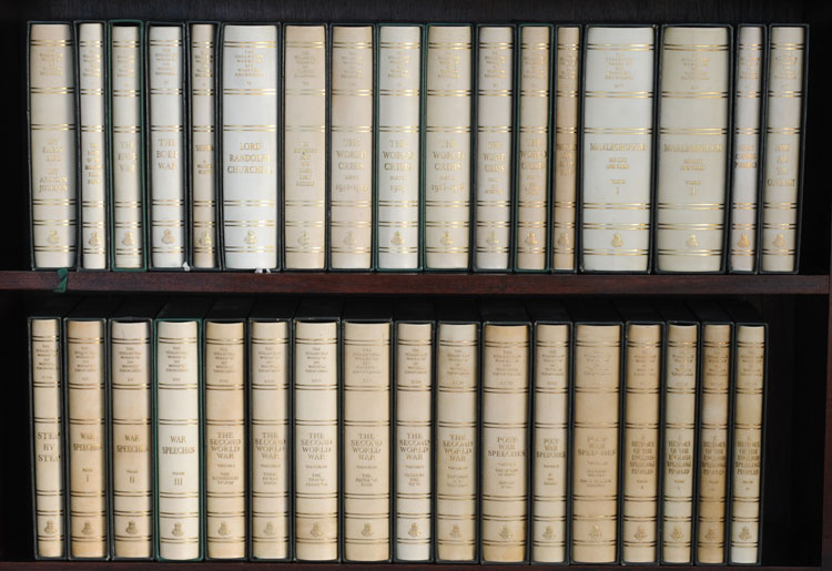 THE COLLECTED WORKS OF SIR WINSTON CHURCHILL. Winston S. Churchill.