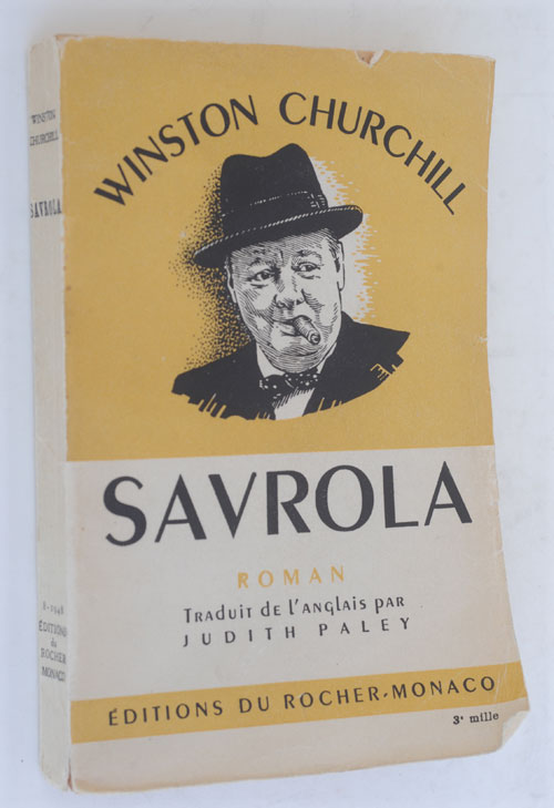 Savrola (in French). Winston S. Churchill.