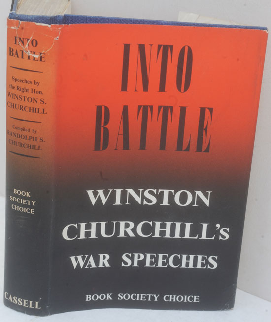 Into Battle. Winston S. Churchill.