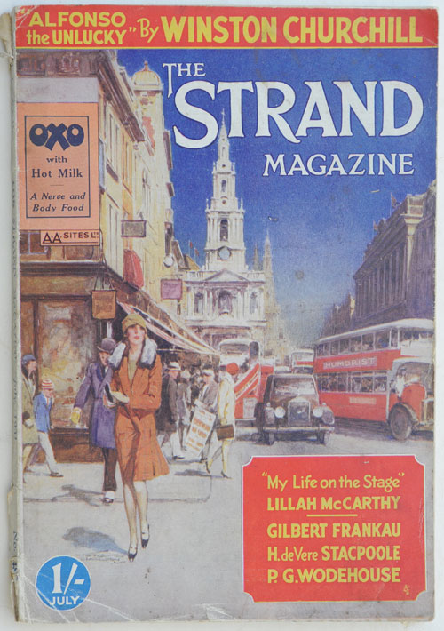 Alfonso the Unlucky, in Strand Magazine July 1931. Winston S. Churchill.