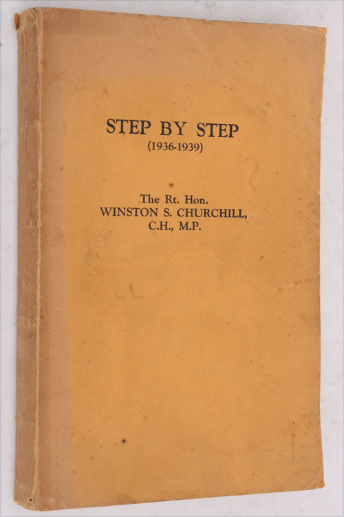 Step by Step PROOF COPY. Winston S. Churchill.