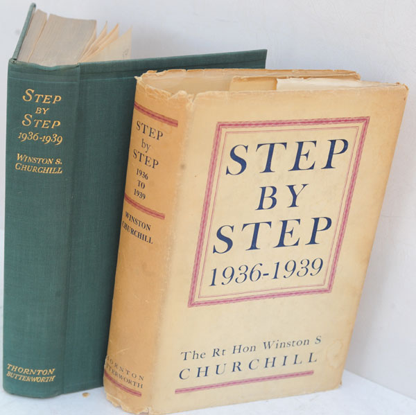 Step by Step 1936-1939. Winston S. Churchill.