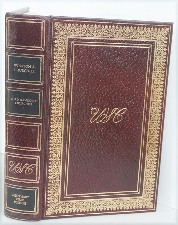 CENTENARY FIRST EDITIONS of THE MAJOR WORKS of Sir Winston S. Churchill. Winston S. Churchill.