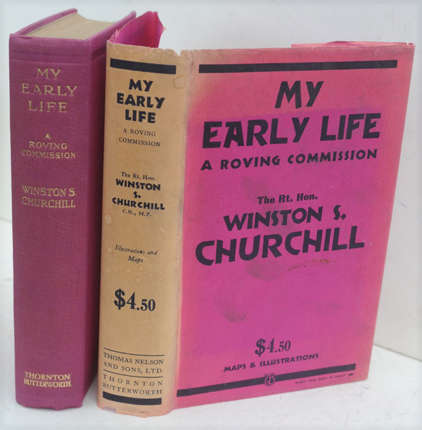 My Early Life. Winston S. Churchill.