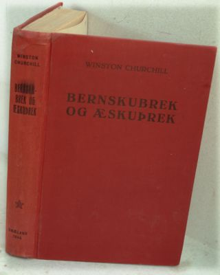 Bernskubrek Og Aeskuprek ( My Early Life in Icelandic). Winston S. Churchill