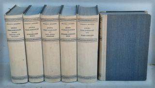 Andra Varldskriget (Swedish Translation of Second World War in 6 vols). Winston S. Churchill