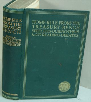 Home Rule from the Treasury Bench, Speeches during the first and second Reading debates