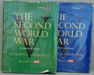 The Second World War, two volume set. Winston S. Churchill