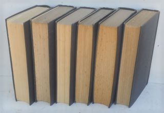 The World Crisis, full set of six in dustjackets