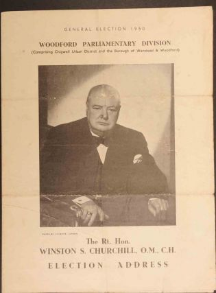 Election Address 1950. Winston S. Churchill.
