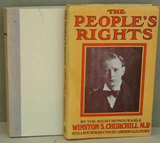 The People's Rights UNCORRECTED PROOF. Winston S. Churchill.