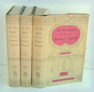 The War Speeches of the Rt. Hon. Winston S. Churchill, 3 volumes. Winston S. Churchill