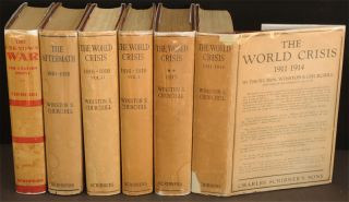 The World Crisis, full set of six. Winston S. Churchill