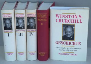 Geschichte ( German translation of A History of the English-speaking Peoples). Winston S. Churchill