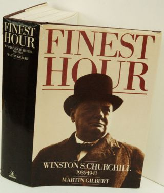 Winston S. Churchill, Volume VI, Finest Hour 1939-1941. Martin Gilbert