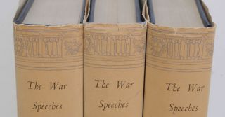 The War Speeches of the Rt. Hon. Winston S. Churchill, 3 volumes