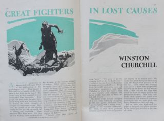 Great Fighters in Lost Causes, in Strand Magazine March 1933
