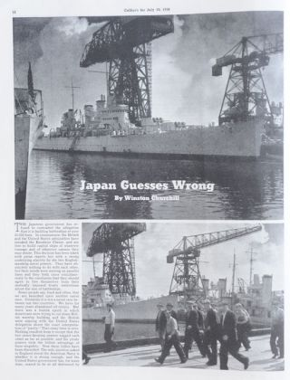 Japan Guesses Wrong, in Collier's 30 July 1938