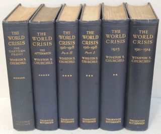 The World Crisis, full set of six firsts