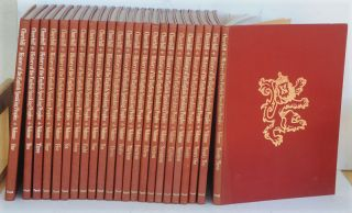 A History of the English-Speaking Peoples, 23 volume set. Winston S. Churchill