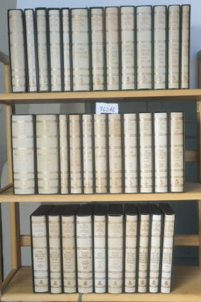 THE COLLECTED WORKS OF SIR WINSTON CHURCHILL (34 vols). Winston S. Churchill