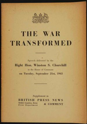 The War Transformed. Winston S. Churchill