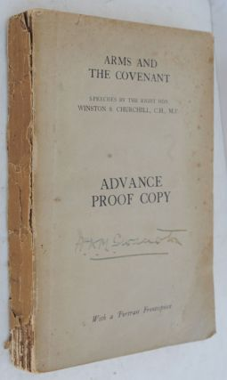 Arms and the Covenant Advance Proof Copy. Winston S. Churchill