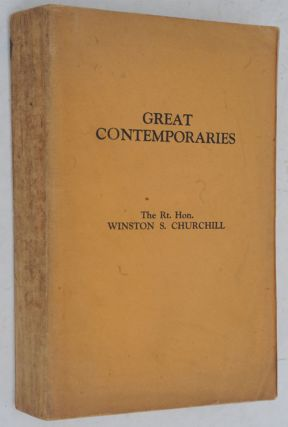Great Contemporaries PROOF. Winston S. Churchill