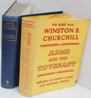 Arms and the Covenant in yellow DJ. Winston S. Churchill