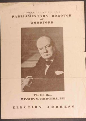 Election Address. Winston S. Churchill.
