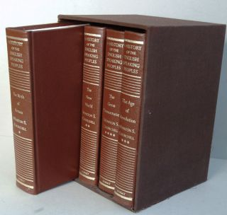 A History of the English-Speaking Peoples (Special Publisher's Leather Edition). Winston S....