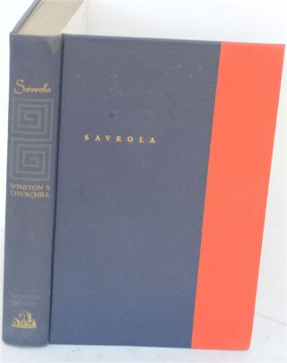 Savrola (A Tale of the Revolution in Laurania)